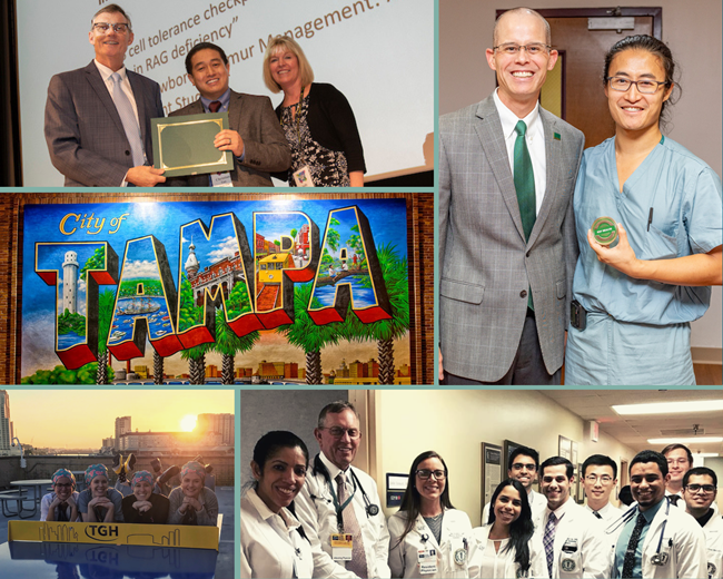 Collage on Current Residents & Fellows Page