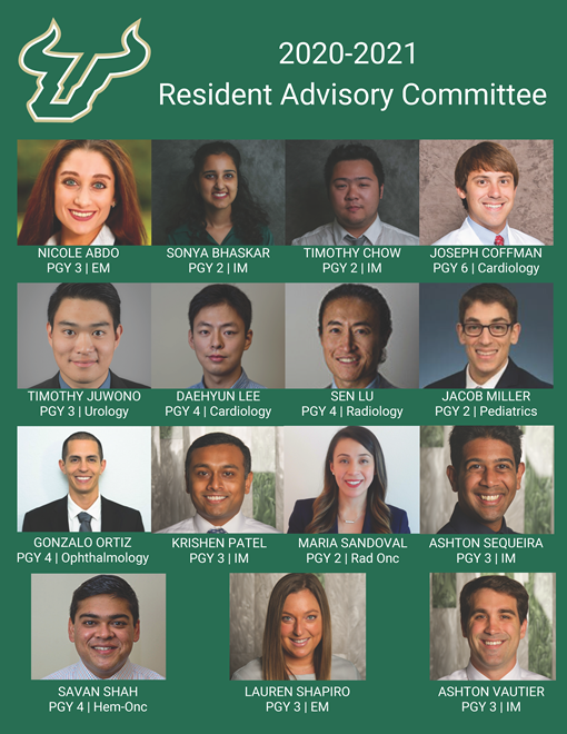 Collage of 20-21 Residency Advisory Committee