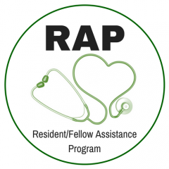 Logo for Resident/Fellow Assistance Program