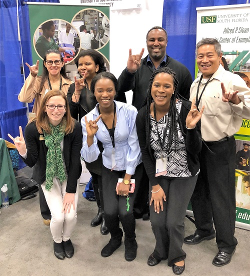 phd faculty, staff, and students at ABRCMS