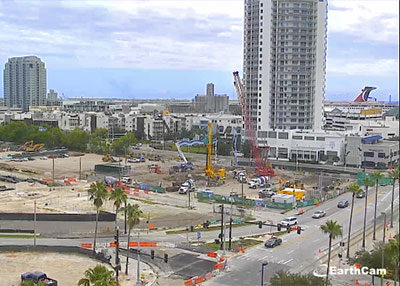 Water Street Construction Live Webcam
