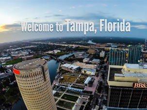city tampa skyline
