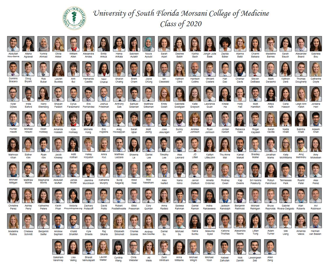 Usf Academic Calendar 2020-2021 Class Pages & Composites | USF Health