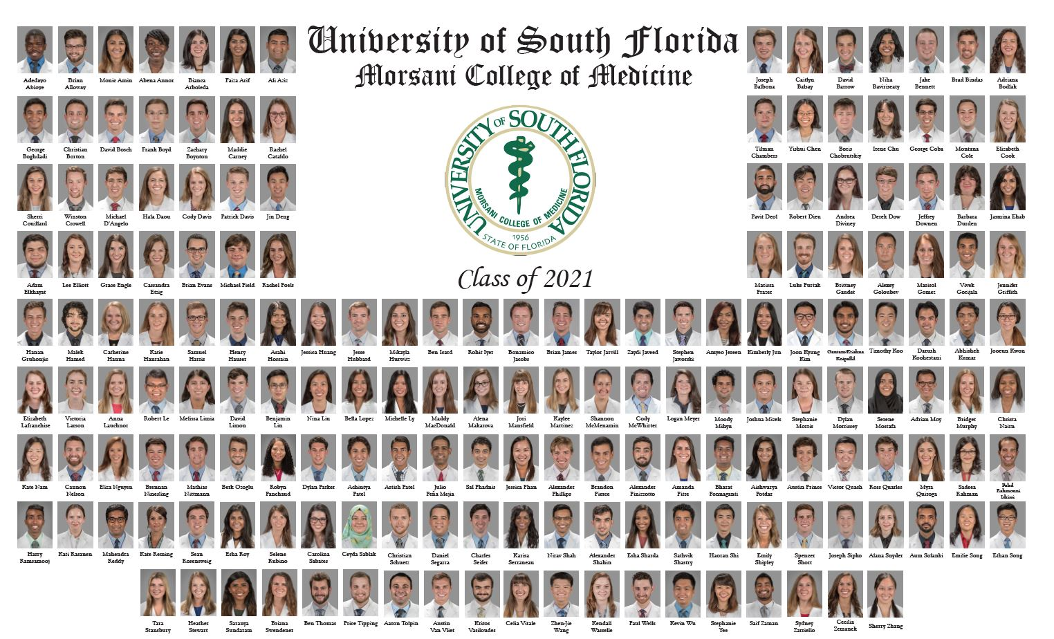 Usf Academic Calendar 2020 Class Pages & Composites | USF Health