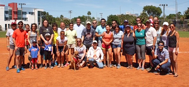 USF Pediatrics Softball