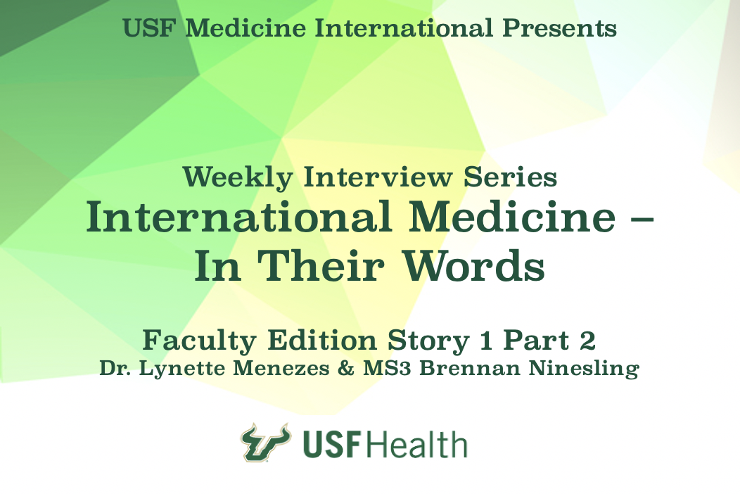In Their Words - Faculty Edition - Story 1, Part 2