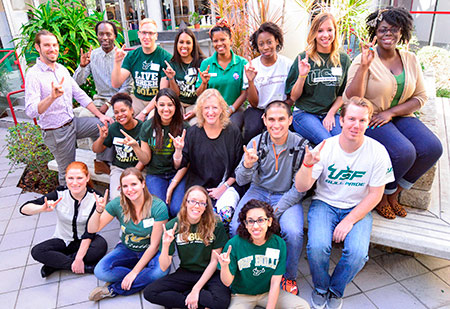students group photo
