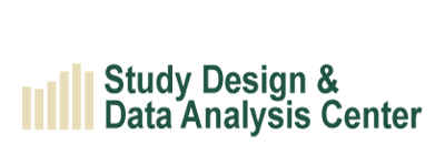 study design and data analysis center