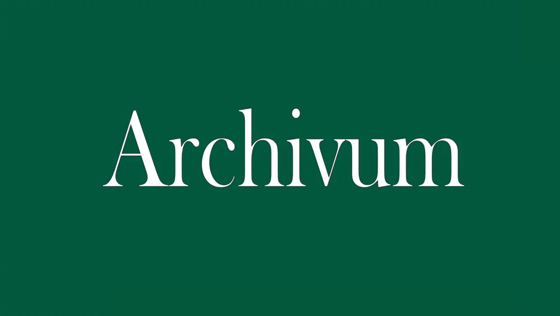 Archivum Video