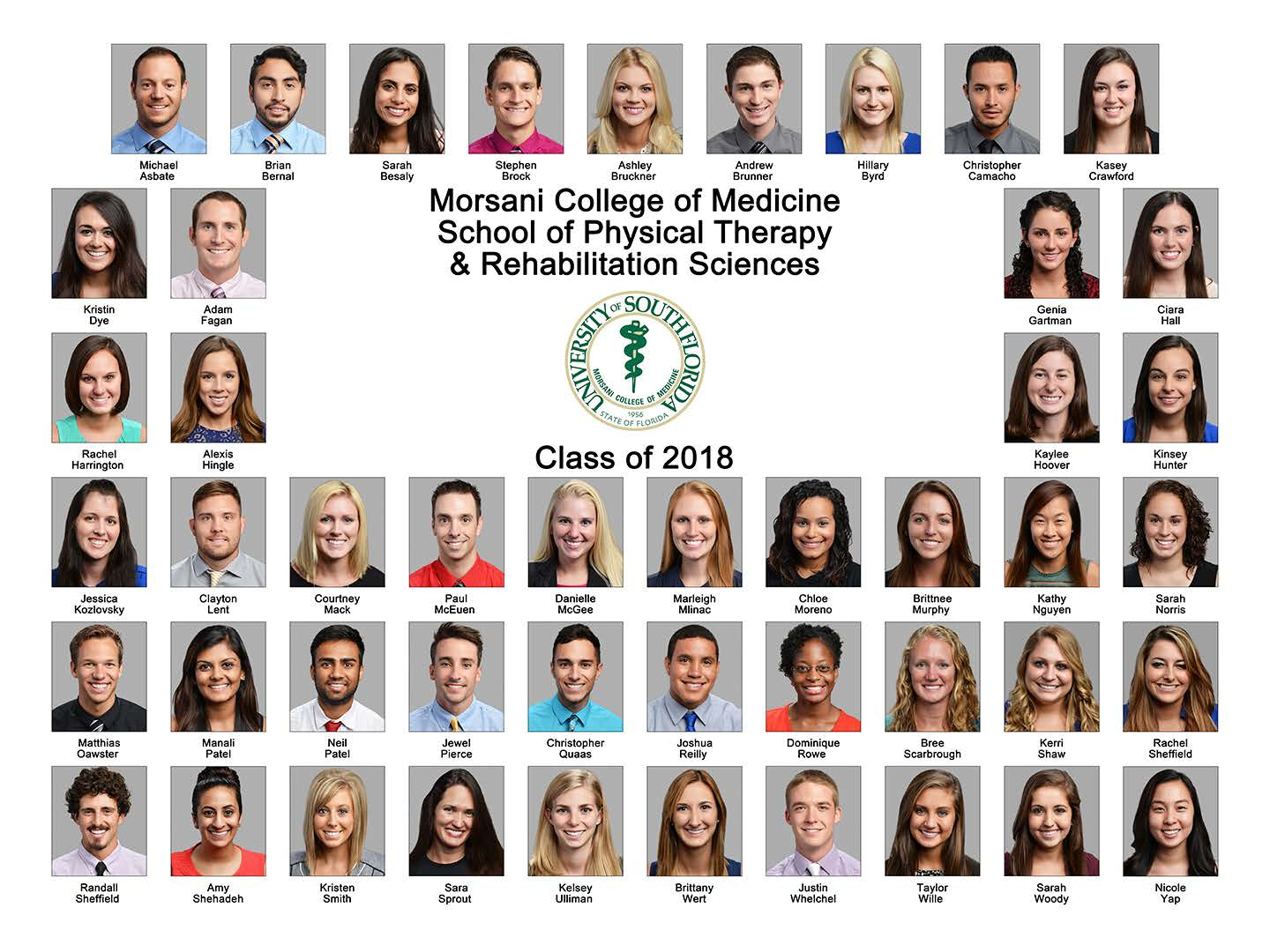 Doctor of physical therapy program - Dpt Class Of 2019 Dpt Class Of 2018