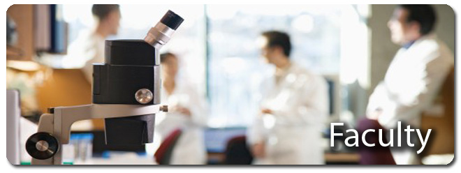 Pathology and Cell Biology Faculty Header