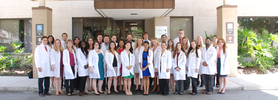 USF Department of Psychiatry and Behavioral Neurosciences 2015 Residents
