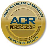 American College of Radiology (ACR) gold seal of accreditation