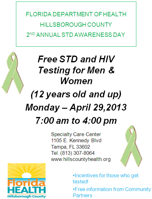 2nd Annual STD Awareness Day