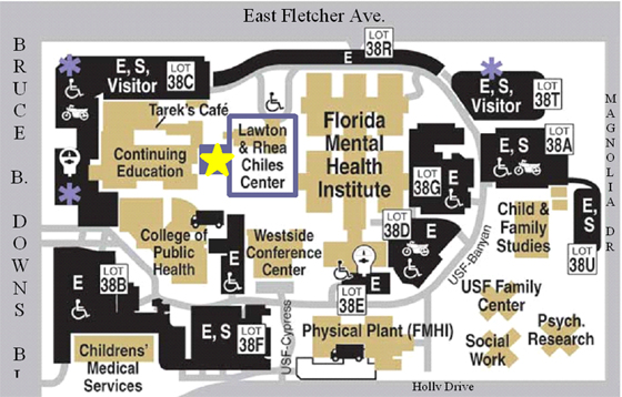 Contact Us USF Health - Map of health education in us