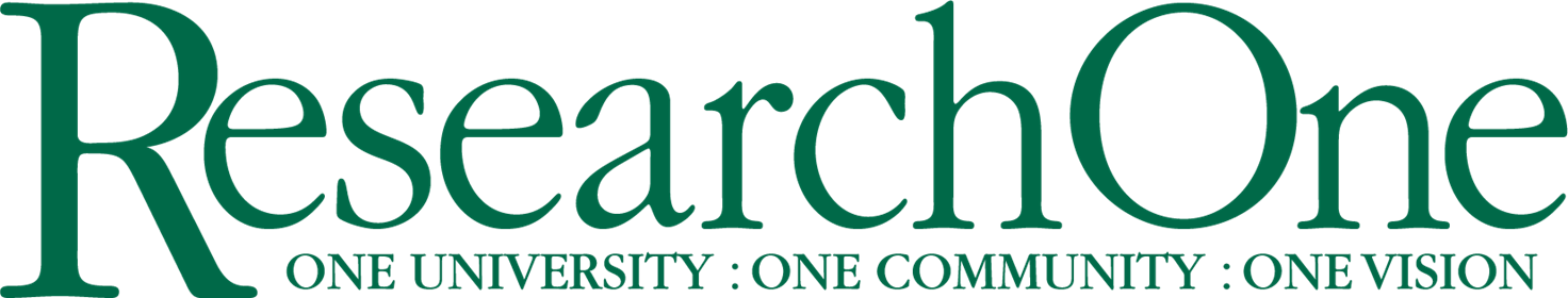 Research One Logo Green